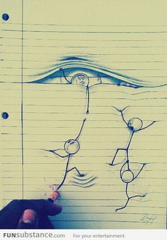 Creative Pen Drawing