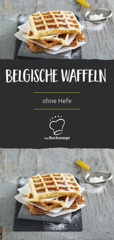 Belgische Waffeln ohne Hefe Belgian waffles are wonderfully fluffy - you can do that without yeast! Paleo Breakfast, Breakfast Bowls, Smoothie Bowl, Smoothie Recipes, Nutritional Yeast Recipes, Paleo Soup, Belgian Waffles, Oatmeal Chocolate Chip Cookies, Milk Recipes