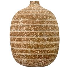 "Massive Claude Conover Vase | Very large and beautifully decorated Claude Conover vessel titled ""Itzsamkab"" and signed. 1960s"