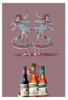 Poster The Beers Insanidade/Consagração