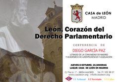 """Conferencia """"León, Corazón del Derecho Parlamentario"""""""