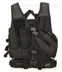 NCStar Child Size Tactical Crossdraw Vest - Airsoft Atlanta - Kids
