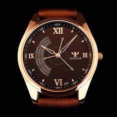 YAZOLE 2016 Wrist Watch Men Watches Top Brand Luxury Famous Wristwatch Male Clock Quartz Watch Quartz-watch Relogio Masculino