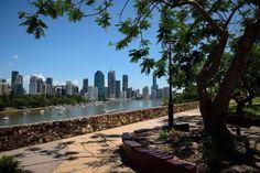 Brisbane from Kangaroo Point.
