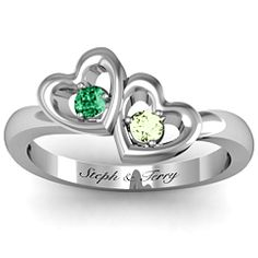 Twin Hearts Ring #jewlr