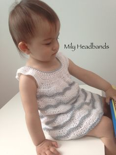 My baby dress crochet