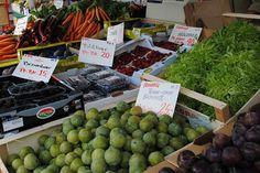 A fruit market in Copenhagen.