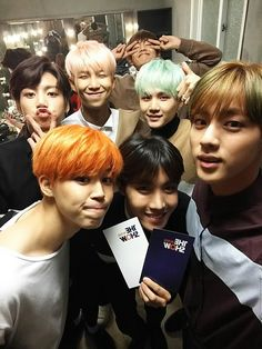 sbsmtvtheshow posted a picture of BTS [151208]   btsdiary