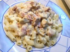 Gnocchi, Potato Salad, Macaroni And Cheese, Food And Drink, Yummy Food, Pasta, Bacon, Meat, Chicken
