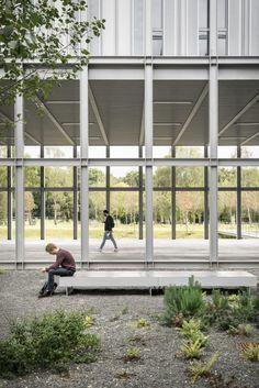 CAB ARCHITECTES, Aldo Amoretti · ENSAE Paristech Campus University Saclay | France