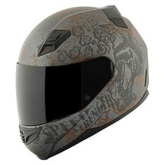 Here's the Speed and Strength SS1200 Rust and Redemption Helmet. A great value and epic style - expect nothing less from Speed and Strength. Check out their full line of helmets and gear at www.getlowered.com/brands/Speed-and-Strength
