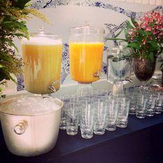 Sucos refrescantes: uma boa sugestão para festas diurnas
