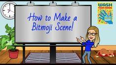 Make a BItmoji Classroom Scene in Google Slides! - YouTube Online Classroom, School Classroom, Classroom Libraries, Google Classroom, Capsule Video, People Reading, Classroom Background, Teaching Technology, Teaching Biology