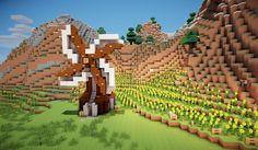 Casa Medieval Minecraft, Cute Minecraft Houses, Minecraft Farm, Minecraft Redstone, Minecraft Plans, Minecraft House Designs, Minecraft Construction, Minecraft Houses Blueprints, Minecraft Creations