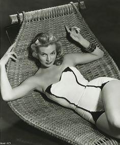Anita Ekberg, 1940's. Hollywood glamour