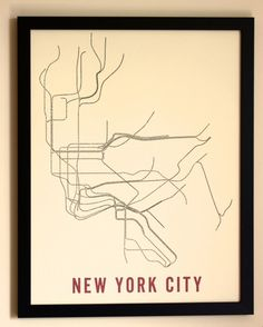 city subway maps redesigned with type