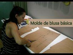 Olá! Esse tutorial ensina a modelar uma blusa básica. Eu desenvolvi essa forma de modelar a partir das minhas experiências com métodos de modelagem e com a M...