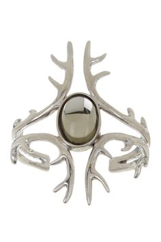 Awesome! Oval Cabochon Long Antler Cuff by House of Harlow on @nordstrom_rack