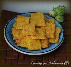 Mrkvové krekry se sýrem