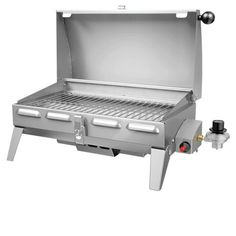 Napoleon 165 Series 24 Inch Freestyle Portable Marine Liquid Propane Gas Grill With BTU, 165 Sq. Total Cooking Area, Stainless Steel Tube Burner, Carry Bag Included, In Stainless Steel Propane Gas Grill, Gas Bbq, Clean Grill, Bbq Grill, Foyers, Napoleon, Outdoor Grill Island, Outdoor Oven, Foyer