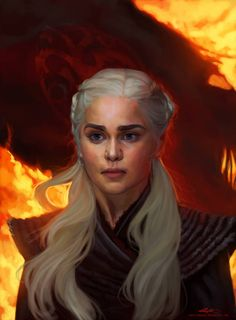 Game of Thrones - Mother of Dragons, Daughter of Death by ChristinZakh on DeviantArt Game Of Thrones Images, Game Of Thrones Artwork, Game Of Thrones Facts, Game Of Thrones Quotes, Game Of Thrones Funny, Dessin Game Of Thrones, Got Jon Snow, Game Of Trone, Fire Fans