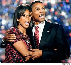 Rupaul As Barack And Michelle Obama