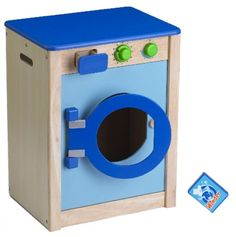 Kids Play Washing Machine. Could modify an old nightstand for this... fun idea.
