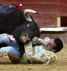 Si eres susceptible no veas estas impactantes cogidas de toros