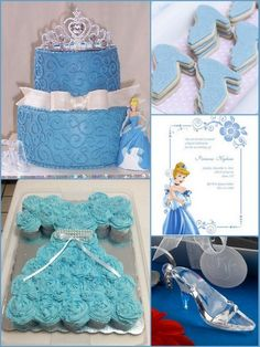 Cinderella Birthday Party Inspirations and Party Favors Ideas from HotRef.com #CinderellaBirthday