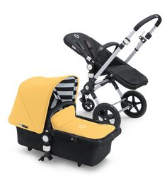 bugaboo cameleon³ special color sunny gold tailored fabric set