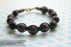 Male Matter / / handmade Bracelet for Men / / volcanic lava