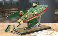 The Planet Express Delivery Ship by Nicola Stocchi is the latest project to achieve supporters on LEGO Ideas.