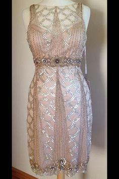 "Beaded Sue Wong ""Gatsby"" Dress"