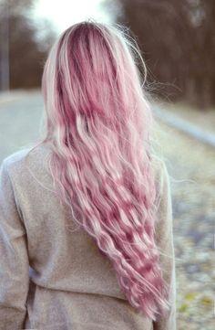 pastel - pink - hair - fairy