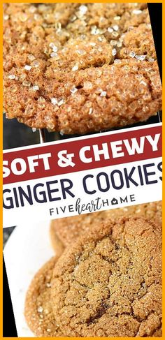 Soft & Chewy Ginger Cookies perfect for Christmas cookie exchanges or your holiday parties! This sweet recipe is loaded with warm spice and coated in crunchy raw sugar for crinkly, sparkly cookies that are as pretty as they are delicious. Save this cookie recipe for later! #Christmas #exchanges #parties! #Cookies #perfect christmas cookies packaging Soft & Chewy Ginger Cookies perfect for Christmas cookie exchanges or your holiday parties! Thi Christmas Cookies Packaging, Cookie Packaging, Chewy Ginger Cookies, Christmas Cookie Exchange, Holiday Parties, Sweet Recipes, Cookie Recipes, Spices, Banana