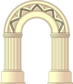 Architecture Facts, Architecture Definition, Classical Architecture, Ancient Architecture, Architecture Design, Covered Patio Design, Greek Culture, Ancient Buildings, Entrance Design