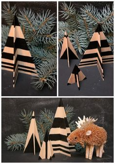 DIY Basswood Trees