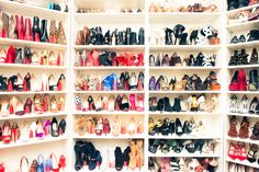 """I think it is fair to say that being obsessed with shoes is 'vizio di famiglia,' as my grandmother used to have an apartment only for her shoes."" http://www.thecoveteur.com/erica-pelosini-part-ii/"