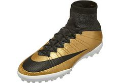 Nike MercurialX Proximo TF - Metallic Gold Grain & Challenge Red. Get it at http://arjan1993.wix.com/linksenrechts today!