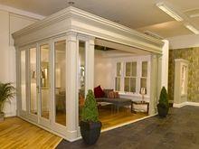 Timber Windows of Birmingham - Showroom - Orangery with open front door view