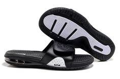 69988cbaf11f Nike LeBron 2 Slide Black Slippers 487332 007