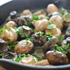 Spanish mushrooms