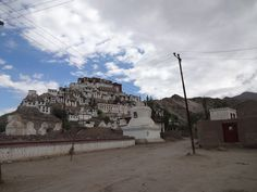 Thikse monastery in Ladakh for motorcycle tour India