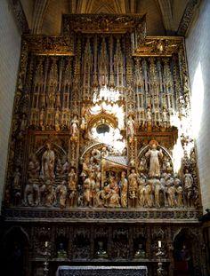 catedral de la seo zaragoza | Archivo:Zaragoza - La Seo 49 - Retablo mayor.JPG - Wikipedia, la ...