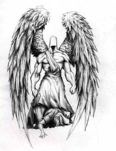 Angel Tattoo Designs Ideas, Guardian Angel Tattoo Designs For Men