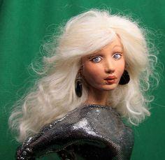 Wildflower Dolls Lesley 12 OOAK Doll Only by WildflowerDolls, $64.95