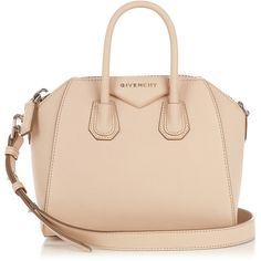 In a powdery shade of nude, Givenchy's Antigona bag is perfect for the lighter months.? It's crafted in Italy from lightly grained leather, and finished with t…