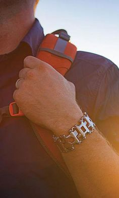 Leatherman Tool Group's new wearable is a toolkit that you can wear as a bracelet.