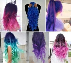 Gorgeous neon coloured hair!!