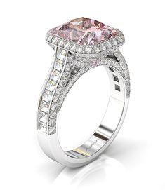 5 carat diamond blaze frame engagement ring